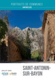 SAINT-ANTONIN-SUR-BAYON - Publications - Portrait de communes -SAINT-ANTONIN-SUR-BAYON - Aupa