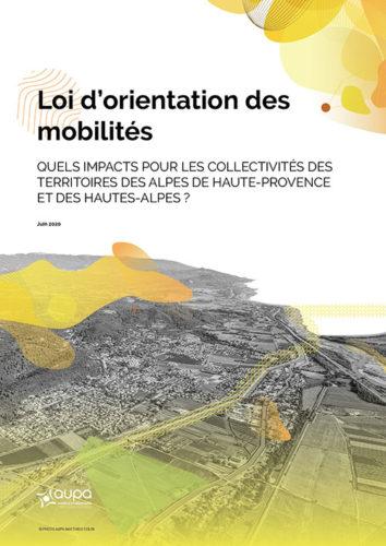 couverture étude AUPA - mobilités - Loi d'orientation des mobilités