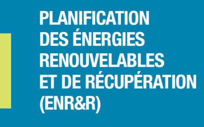 Planification des énergies renouvelables de récupération