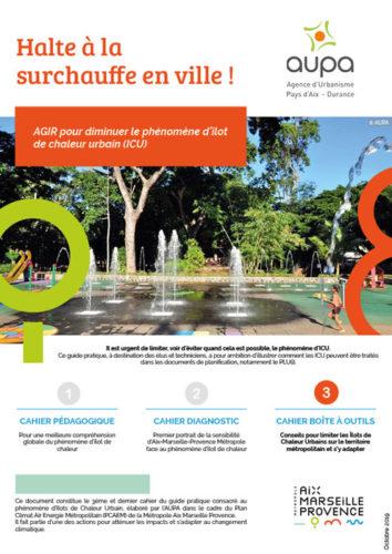 Agence d'urbanisme du Pays d'Aix Durance - Halte a la surchauffe en ville