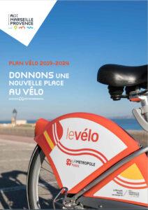 """Couverture du plan vélo 2019-2024 """"donnons une nouvelle place au vélo"""""""