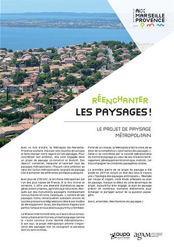 A0 pliable Typologie des paysages Aix Marseille Provence métropole