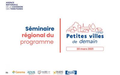 Premier séminaire régional «Petites villes de demain»