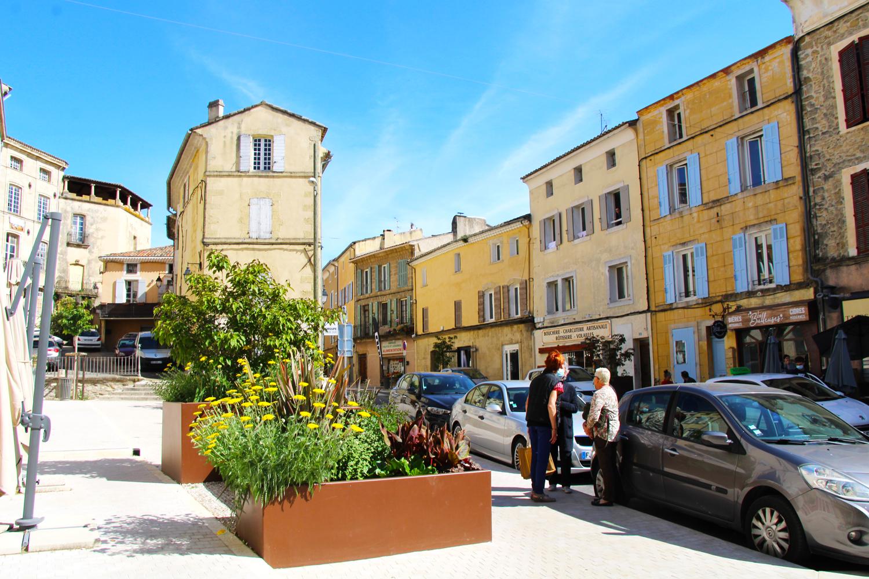 petite ville de demain - visite à Lambesc