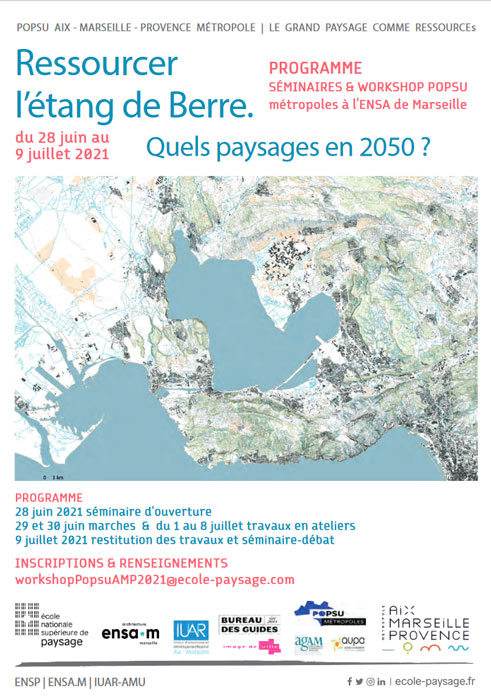 Ressourcer l'étang de Berre. Quels paysages horizon 2050 ?