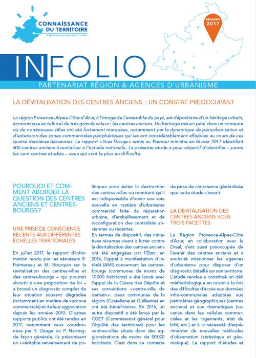 Infolio - centres anciens 2017