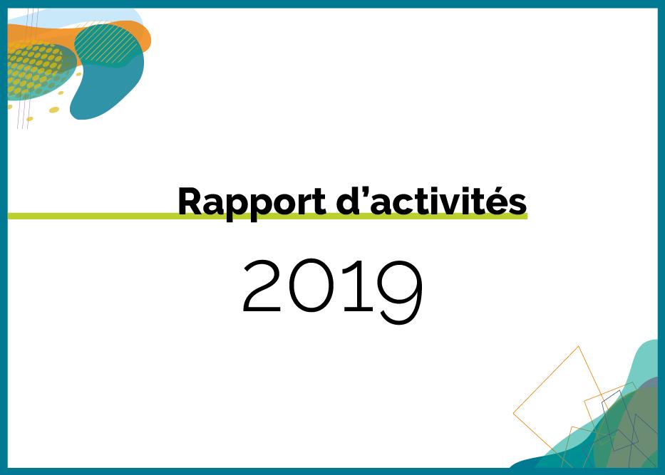 Rapport d'activités 2019 de l'Aupa